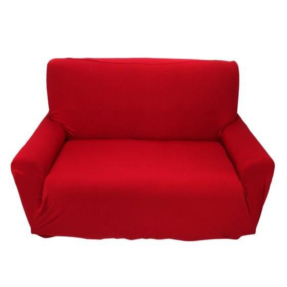 Outstanding Elastic Sofa Cover Couch Pure Color Anti Wrinkle Sofa Machost Co Dining Chair Design Ideas Machostcouk