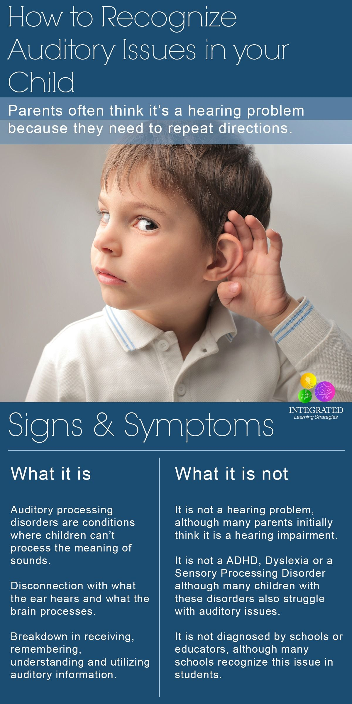 auditory processing  how to recognize an auditory