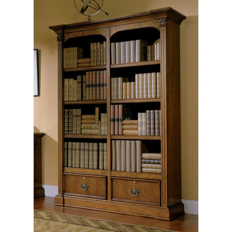 Riverside Echelon Double Bay Bookcase | from hayneedle.com