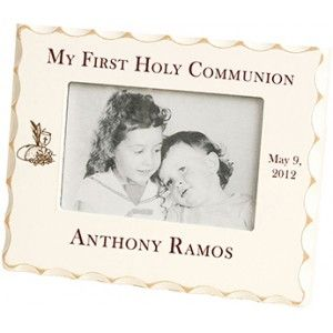 First Communion Scalloped Frame - $19.95