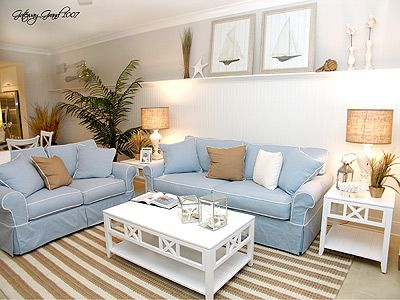 Bethany Resort Furnishings Light Blue Sofa Home Furnishings Home