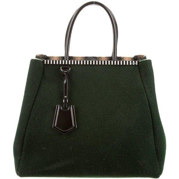 Pre-owned - Wool mini bag Fendi vCi159O1