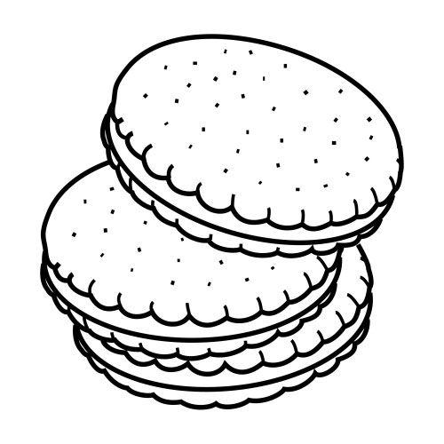 galletas colorear - Buscar con Google | colorear in 2018 | Pinterest ...