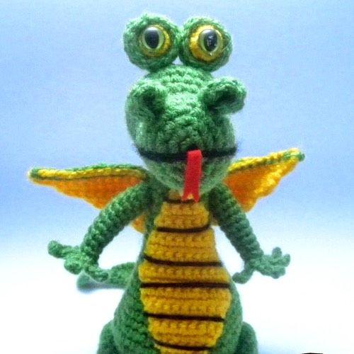 Dragon Rojo Amigurumi : Patron Dragon amigurumi amigurumi Pinterest Patrones ...