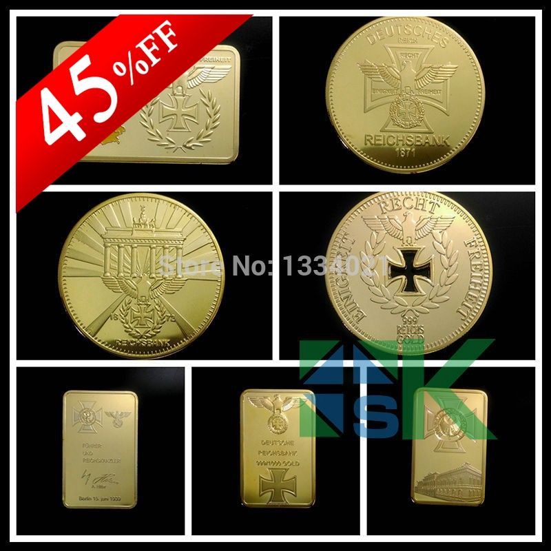 Gemany Design Bars/Coins