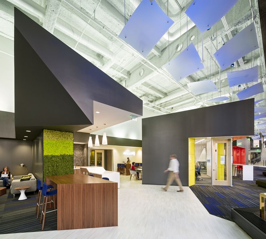 Taking an angular approach to innovation for Microsoft\u0027s San - innovatives interieur design microsoft