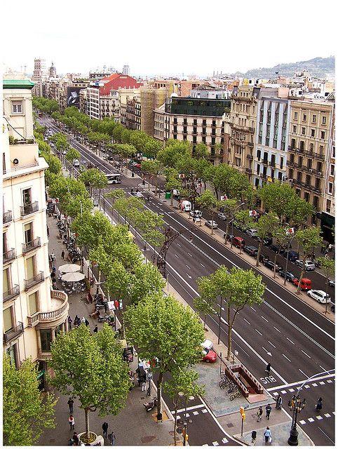 Barcelona Paseo De Gràcia Barcelona Travel Barcelona Architecture Barcelona Catalonia