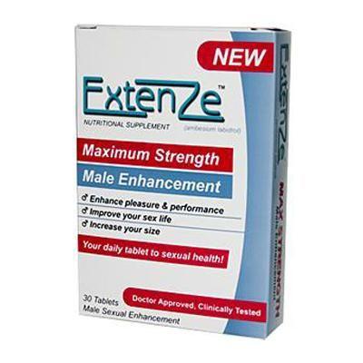 Join told Extenze penis enhancement