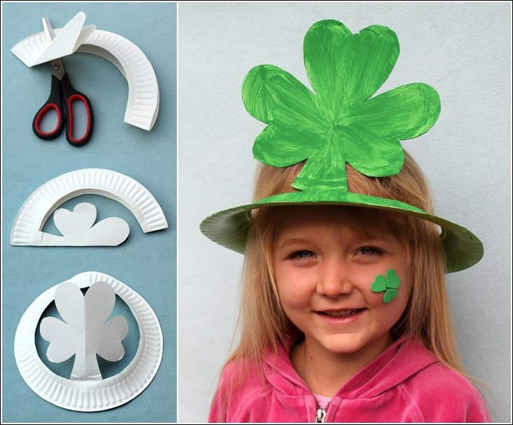 Imgs For \u003e How To Make Paper Hat For Kids  sc 1 st  Pinterest : paper plate hat ideas - pezcame.com