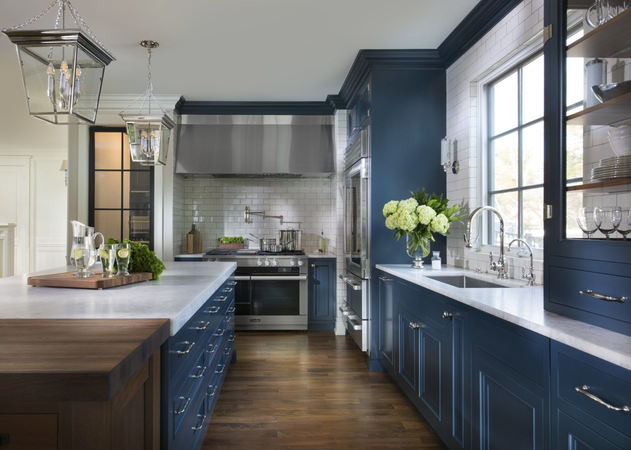 Pin by rachel dugas on Dutch Made Navy blue kitchen