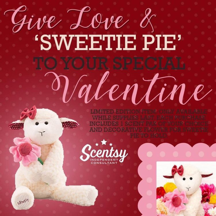 This cute little lambie wont last long! Of course all the buddies come with a FREE scent pack of your choice, perfect valentines gift for anyone you love
