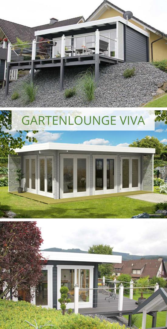 gardenlounge viva 70 b in 2019 moderne flachdach. Black Bedroom Furniture Sets. Home Design Ideas