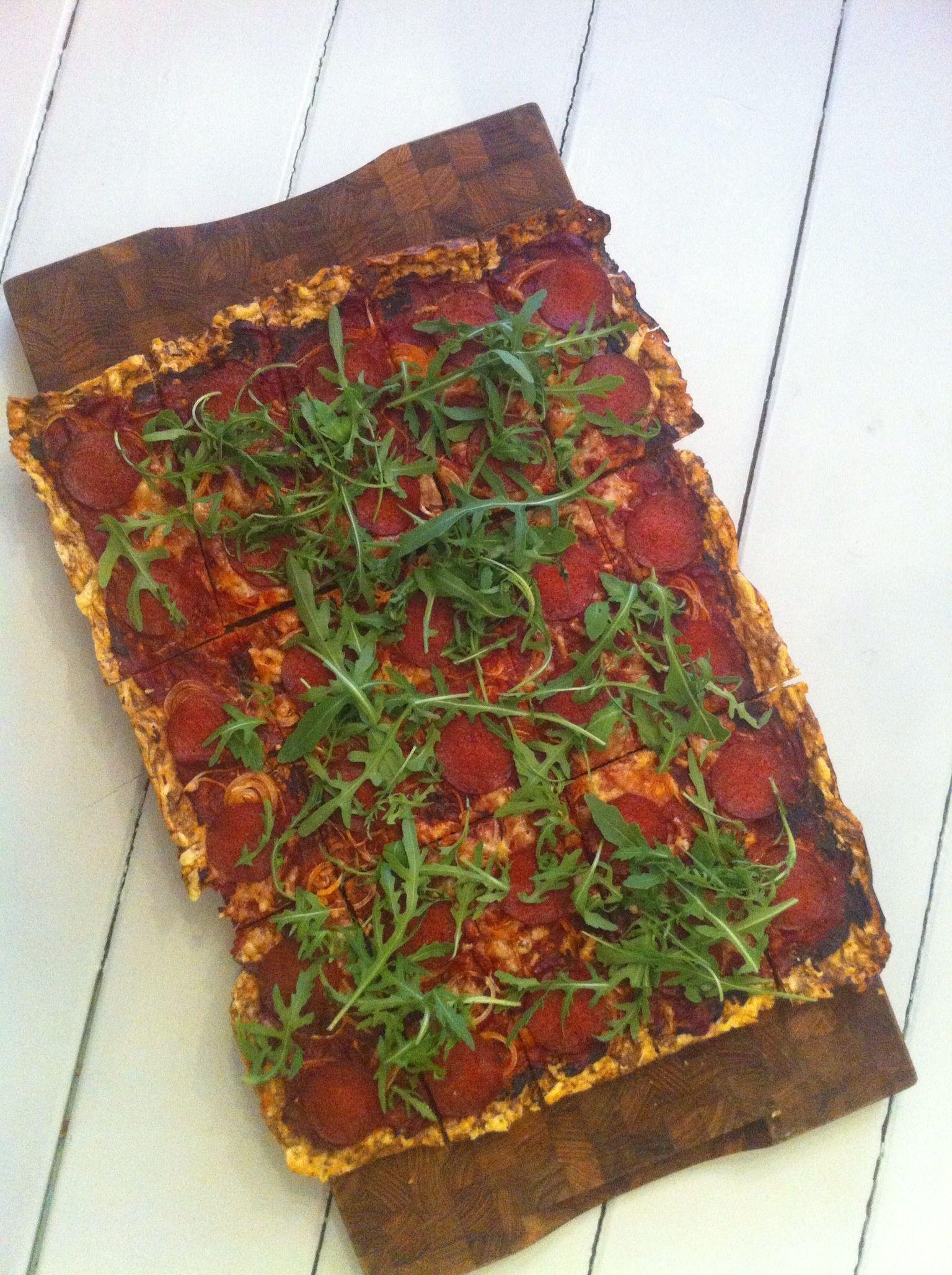 Low Carb Pizza - OpskriftBørsen