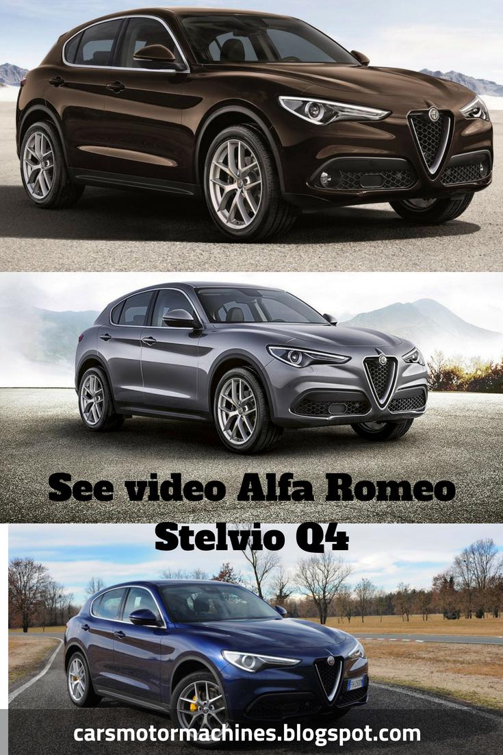 Alfa Romeo Stelvio Q4 Exterior And Interior Walkaround Card