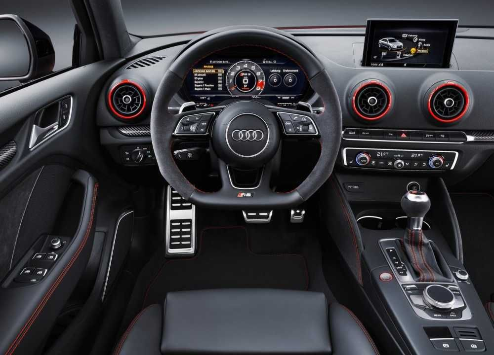 2018 Audi Rs3 Dashboard And Steering Wheel Audi Rs3 Audi Sedan Audi Interior