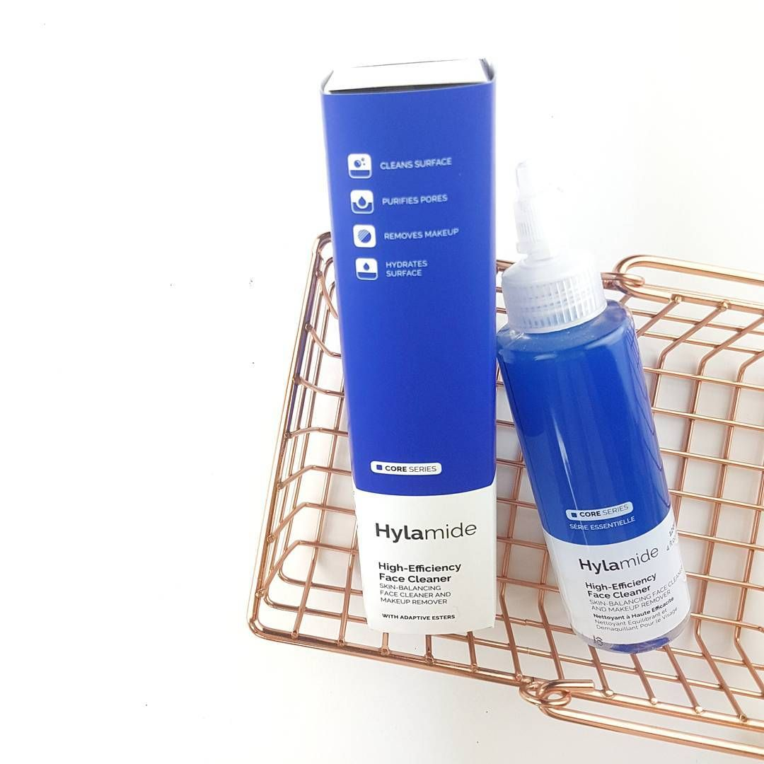 El High-Efficiency Face Cleaner de Hylamide es un limpiador perfecto para realiz...