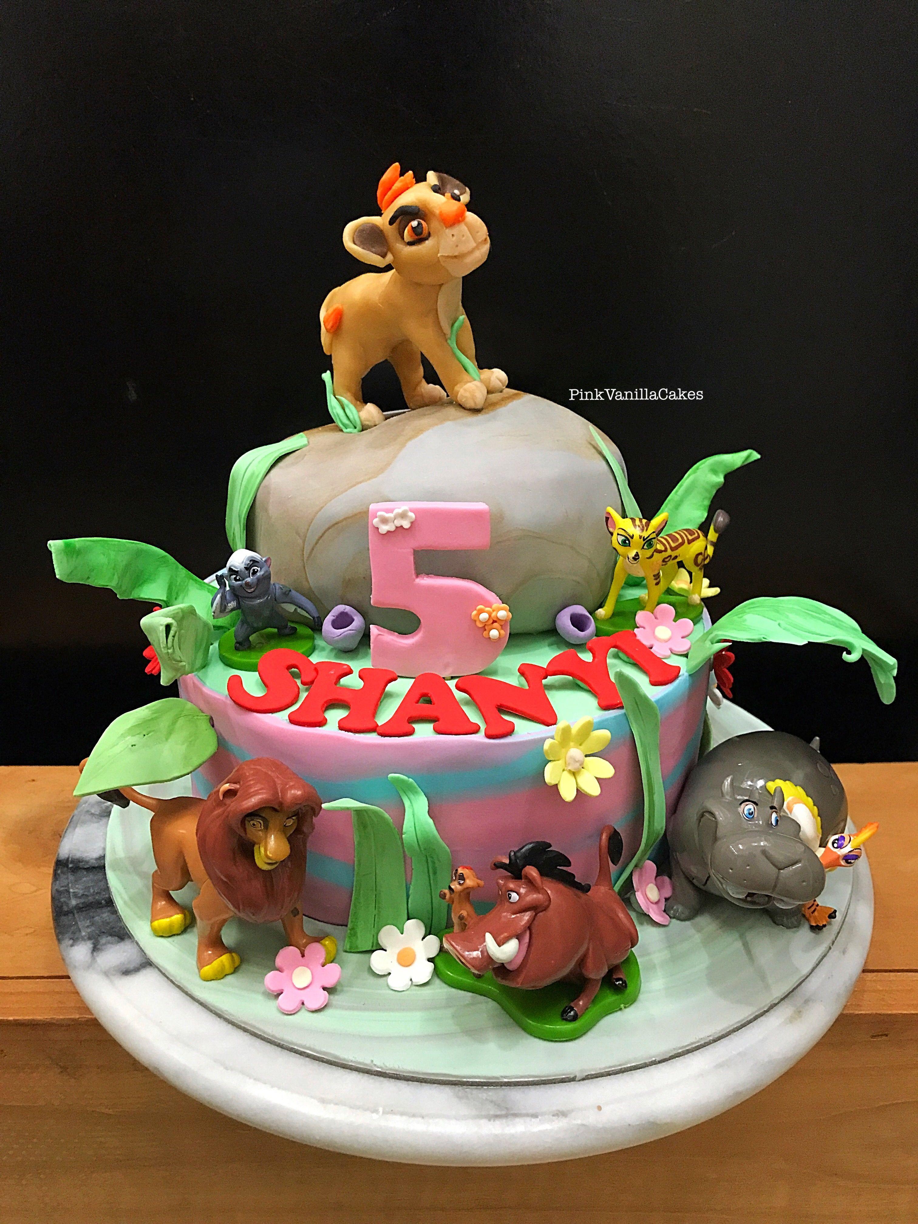 Kionlionguardcake Lionkingcake Kids Birthday Cakes Characters