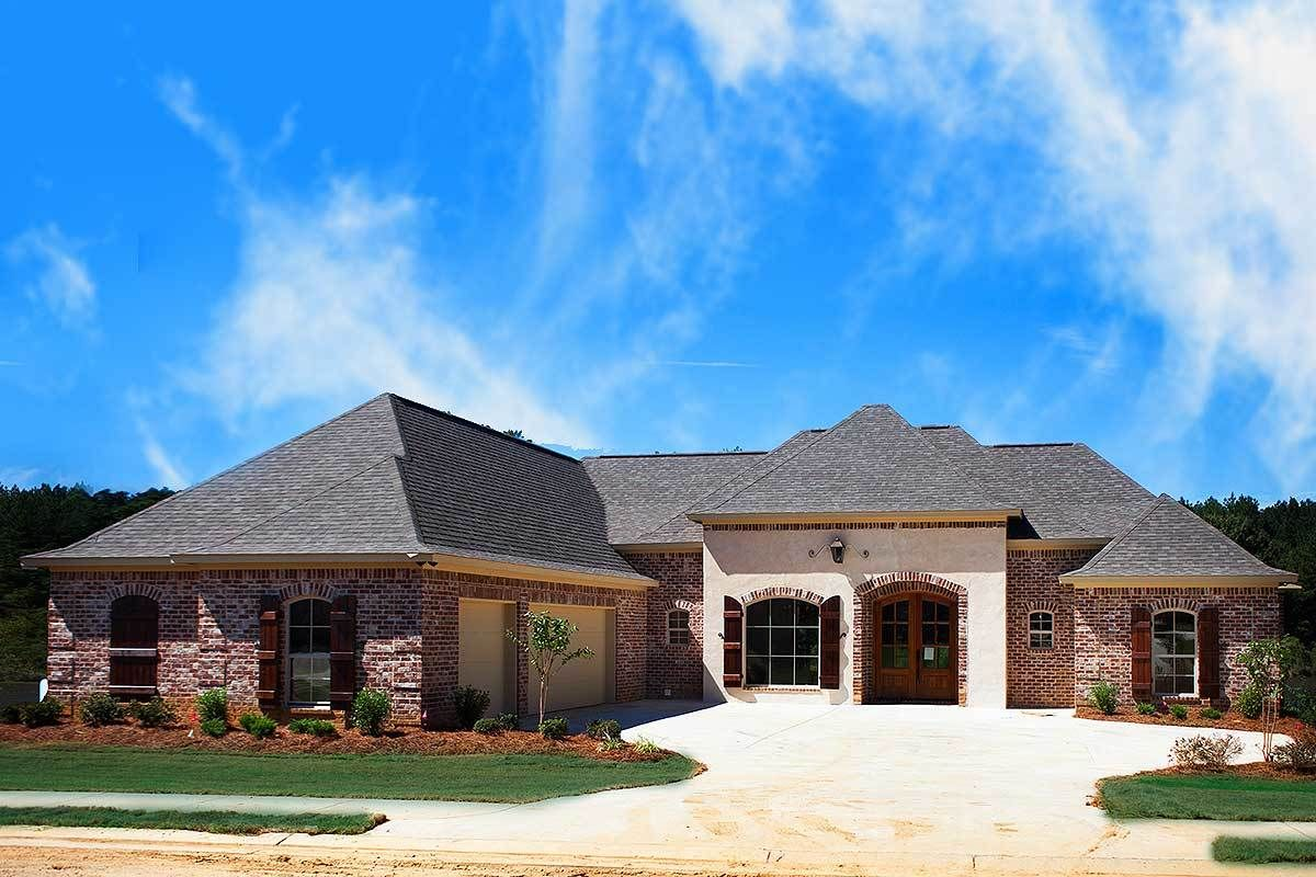 Plan 83847jw Acadian Style With 3 Or 4 Beds Acadian