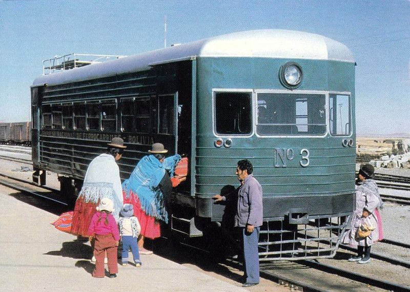 WickhamLeyland railcar in Bolivia Эпоха регентства