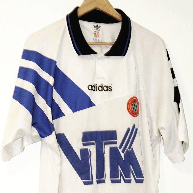 1995-1996 Club Brugge Away Shirt Size: XL Price: 30 Seller: @timelessfootball  #clubbruges #bruges #footballshirtcollective #vintageadidas