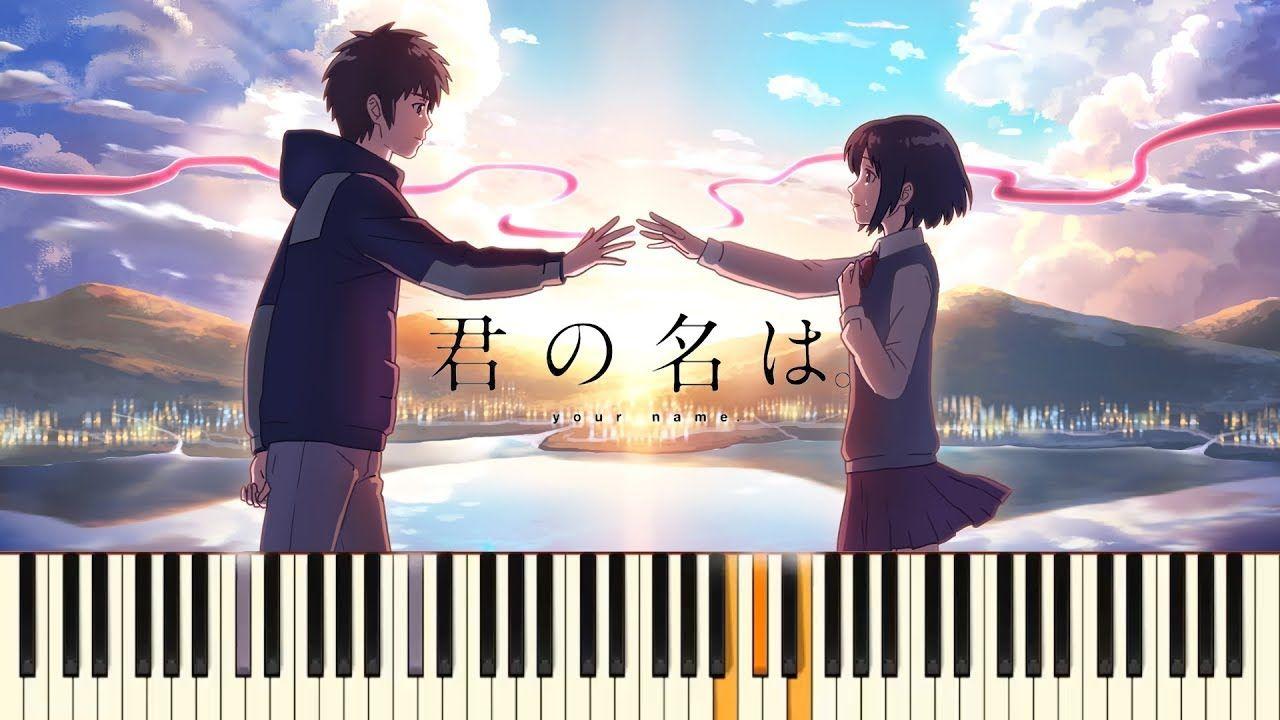 Nandemonaiya Kimi No Na Wa Your Name Piano Cover Firefly Gangwon
