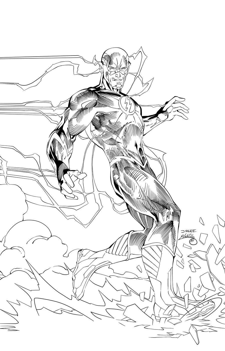 the flash ink 2swave18 on deviantart  jim lee art