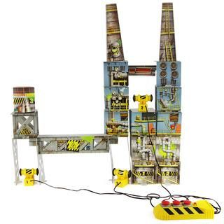 They'll explore and learn fundamentals of physics as they build, implode, and build again!  Demolition Lab Triple Blast Warehouse - Imagine Toys. https://www.imaginetoys.com/demolition-lab-triple-blast-warehouse#.UpFT7n-9KK0