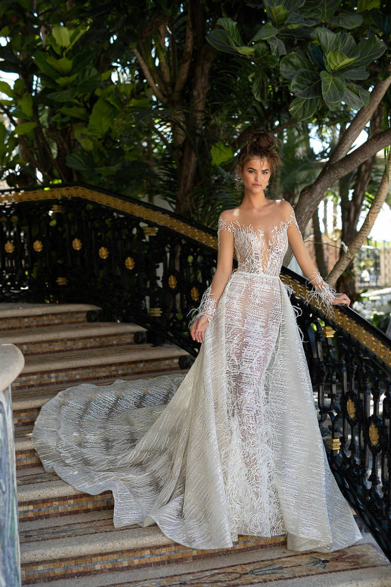 Wedding decorations for outside january 2019 Berta SS  Miami Wedding Dresses  Weddings  Pinterest  Miami