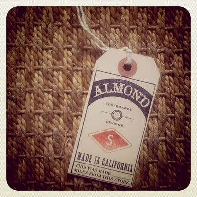 ALMOND Surf Tag