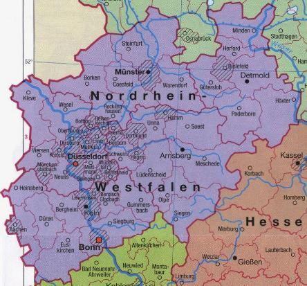 Staus In Nordrhein Westfalen