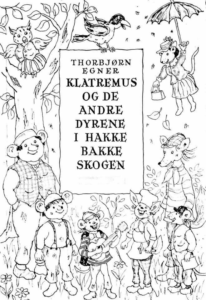 Pin på Torbjørn Egner