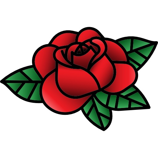 Download Now This Free Icon In Svg Psd Png Eps Format Or As Webfonts Flaticon The Largest Database Of Fr In 2021 Flower Art Drawing Old School Rose Vintage Tattoo