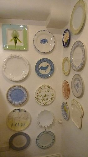 hang your plate collection here