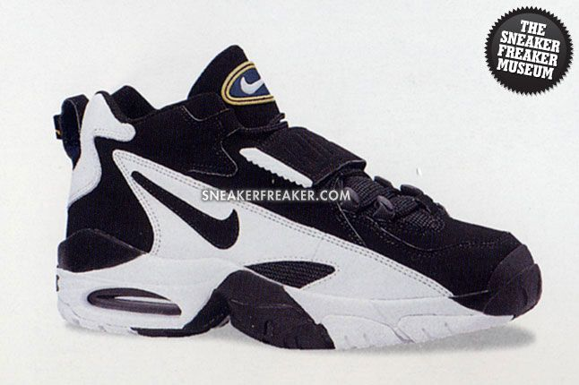 00f2e2cc15 NIKE - Air Pro Turf Trainer - Black/White - Found a good pic! I wore these  OUT. Predecessor to the Nike Speed Turf line-up (AKA - Deion's shoes).