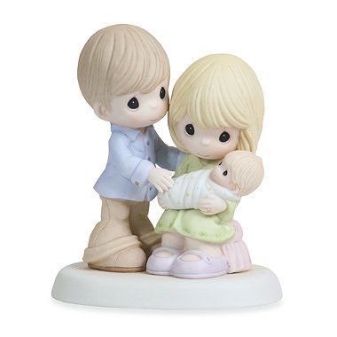 Precious Moments® In Our Hearts From The Very Start Porcelain Figurine - buybuyBaby.com #baby #wishlist #gifts