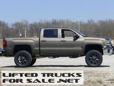 New 2014 Bronze Gmc Sierra 1500 Sle 4x4 Lifted 6 Gmc Trucks For Sale Gmc Sierra 1500 Trucks For Sale