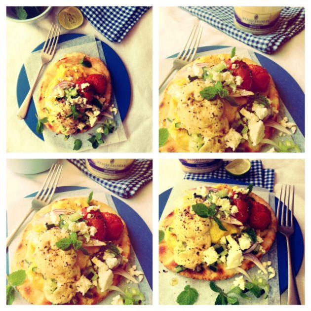 The Breakfast / Brinner Med Style Pita
