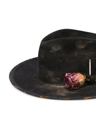 Nick Fouquet rose fedora hat. Find this Pin and more ... ad3d89d532bc