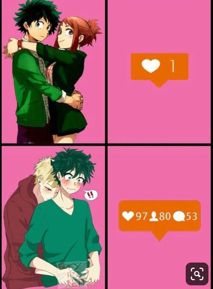 THE CUTE COUPLE •_•bakudeku smut•_•