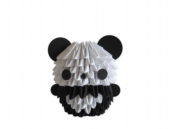 3D Origami Mini Panda By Espressions 1200 USD