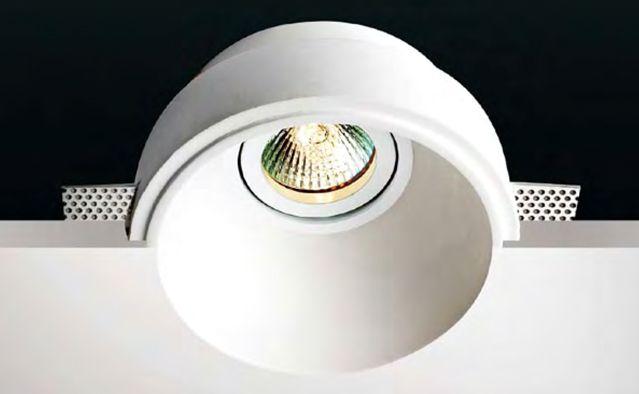 Aplique de yeso invisible para techo #decoracion #iluminacion #interiorismo #lamparas
