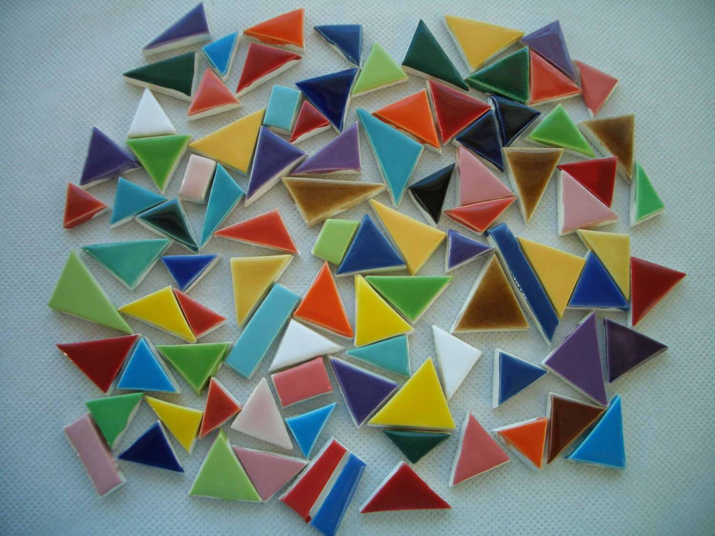 93t Chicklets 93 Pcs Fun Colorful Tiny Tiles Ceramic Mosaic