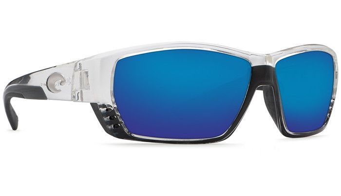 d8ec8ed4ceb6f Costa Sunglasses Tuna Alley Crystal Blue Mirror 580P