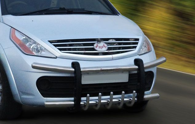 Goldsun Aria Front Bumper Stainless Steel Bumpers Steel