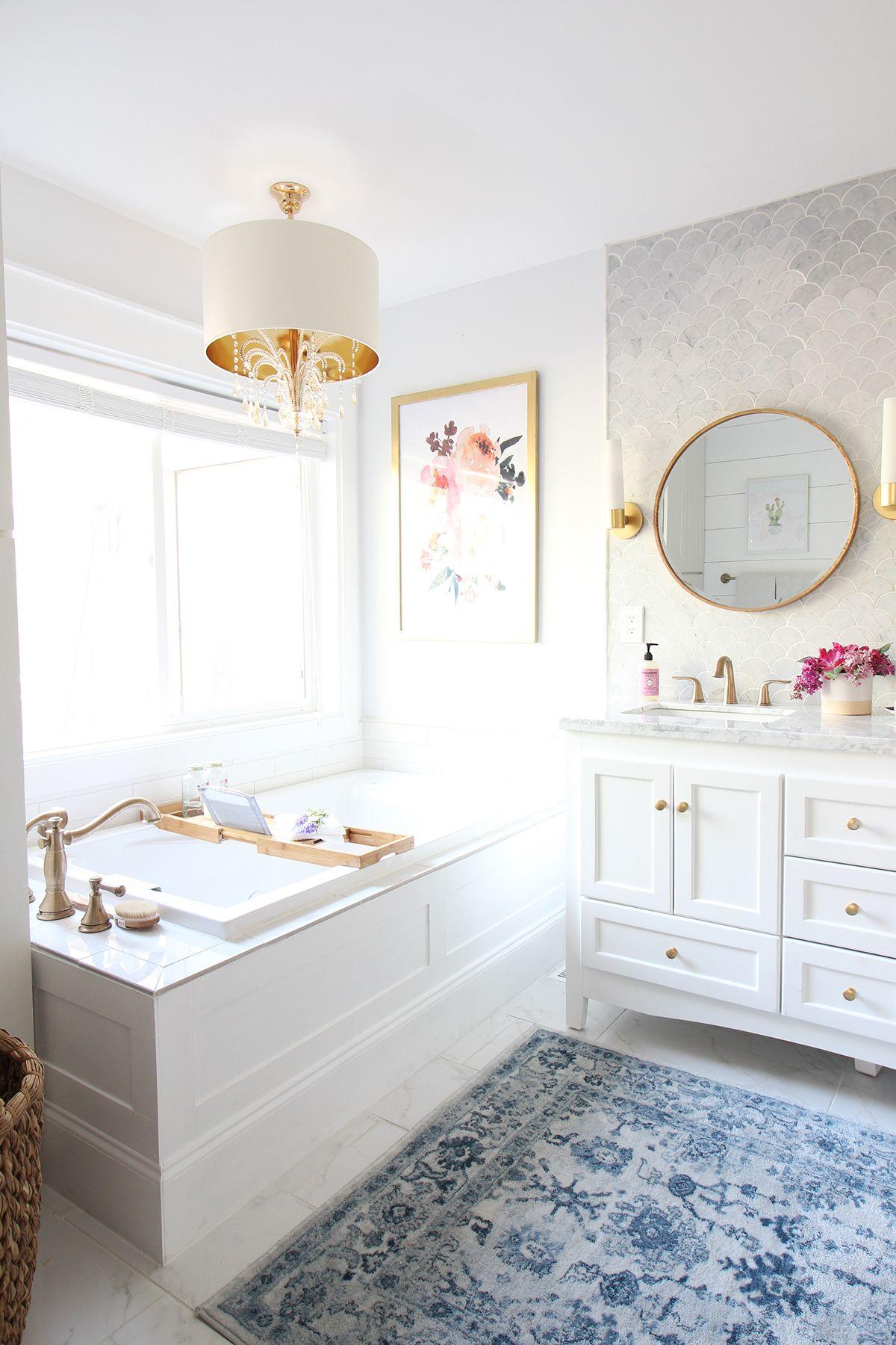 Prescott view home reno master bathroom reveal for Floor decor reno