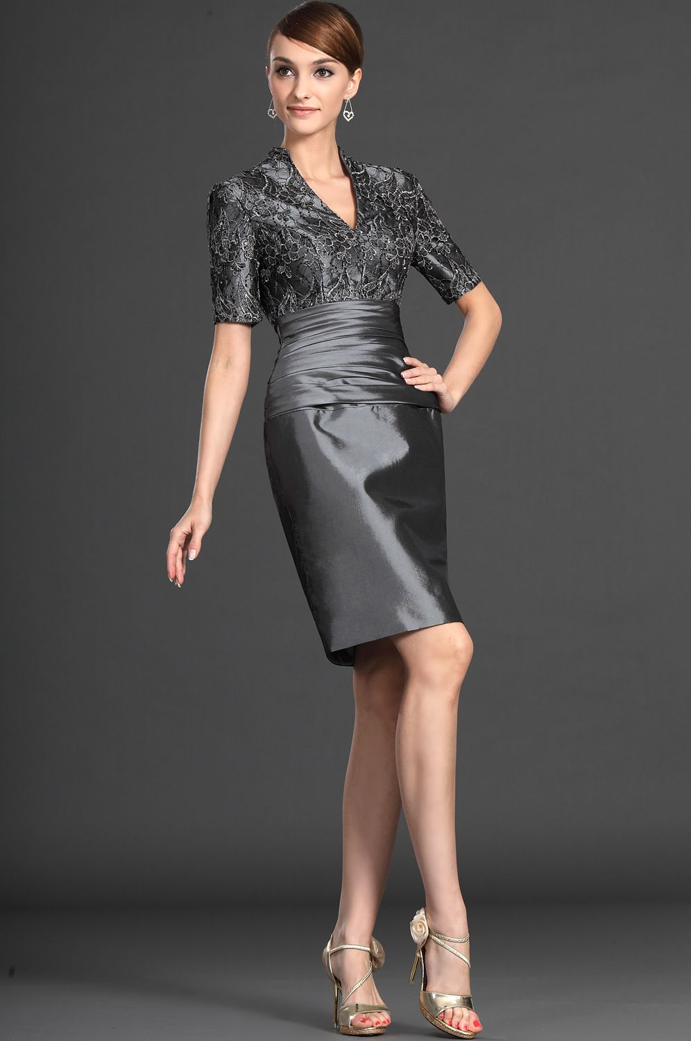 9c228e566d6 eDressit Elegant Lace Grey Mother of the Bride Dresses (26121208) I wanna  see this is gold for PB