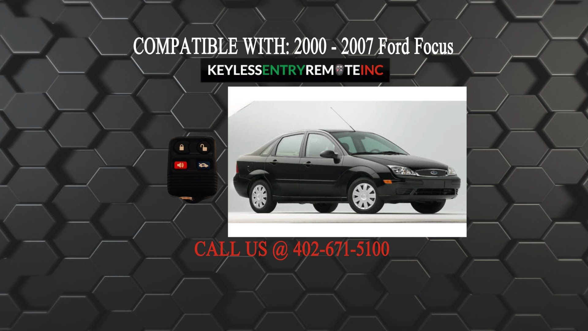 How To Replace A Ford Focus Key Fob Battery 2000 2012 Ford