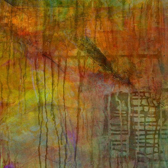 Integration Mixed Media painting by Jolie Buchanan