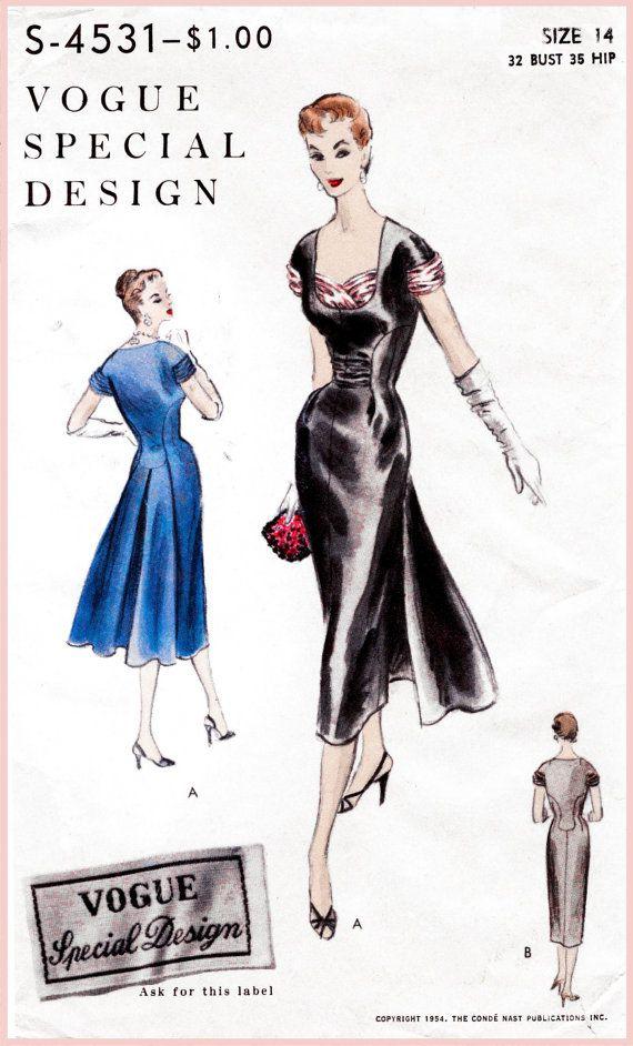 des années 1950 des années 50 le patron de par LadyMarloweStudios ...