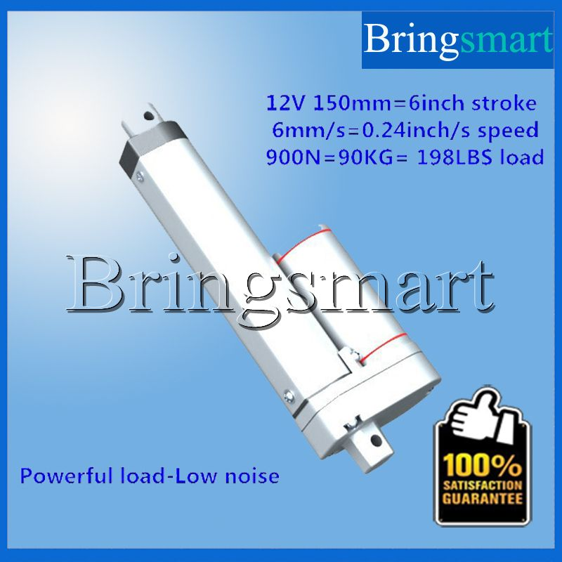 Wholesale 6 Inch Linear Actuator 24V Motor 5-40mm/S Electric Motor